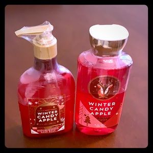 Bath & Body Works WINTER CANDY APPLE set